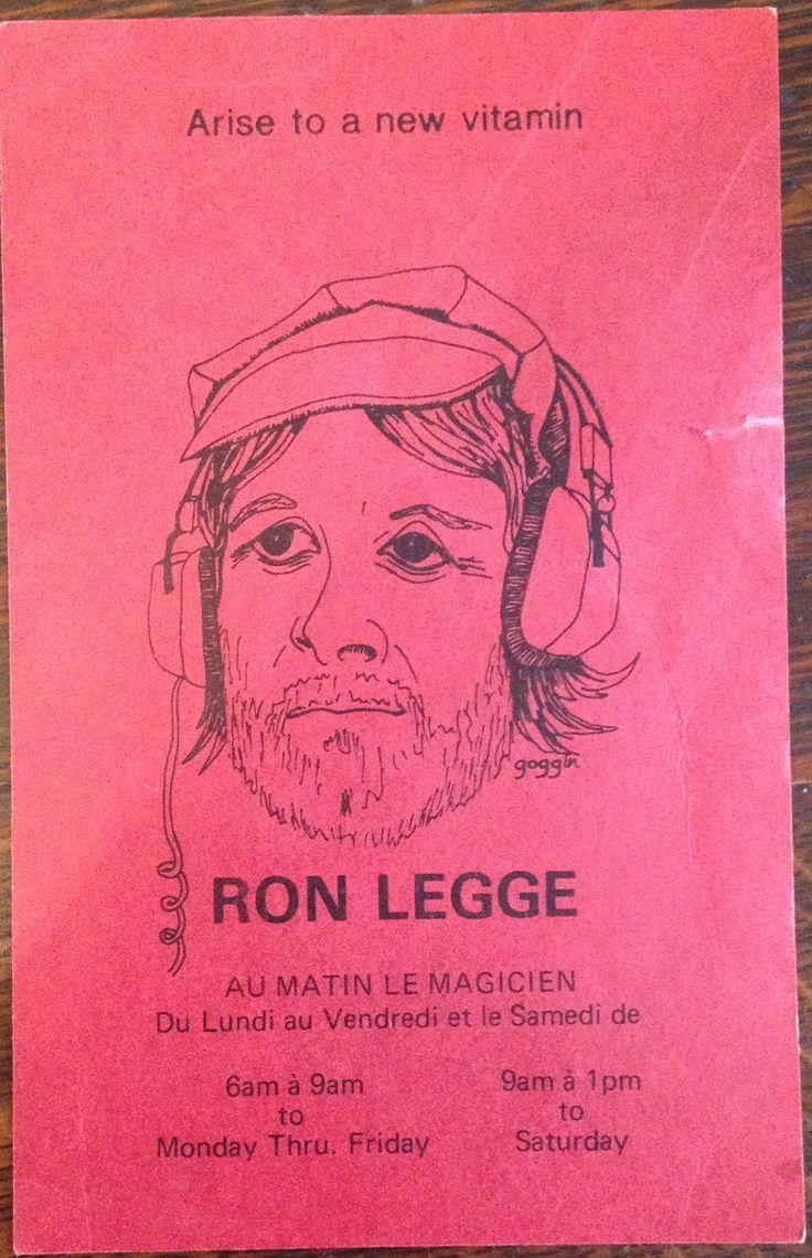 CKGM-FM postcard playlist / Ron Legge