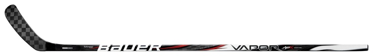 New BAUER Vapor APX composite ice hockey stick features TeXtreme® Spread Tow carbon fabrics and is a continuation on the prosperous usage of TeXtreme® in previous versions of BAUER hockey sticks.      The BAUER Vapor APX is the premier stick in the BAUER Vapor stick line. Bauer Hockey has taken the foundation of the Vapor X:60 hockey stick and combined it with the exceptional puck feel of the TotalONE hockey stick; creating the company's most technical advanced hockey stick to date.