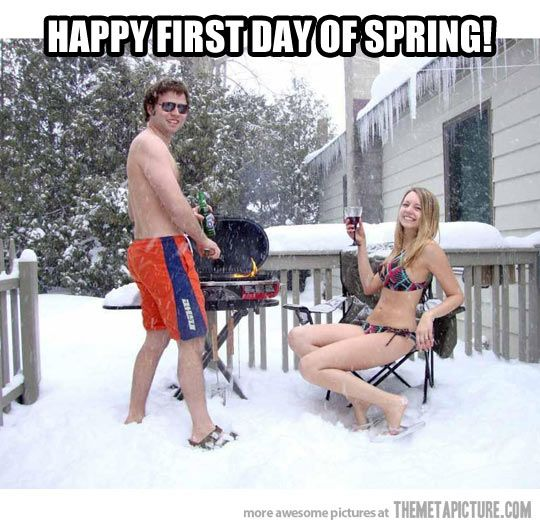 Happy First day of Spring…this has to be Wisconsin