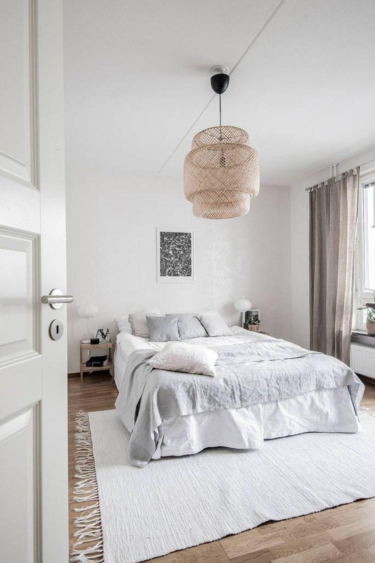 51 Scandinavian Stylish Bedroom Decor Ideas Danish Bedroom