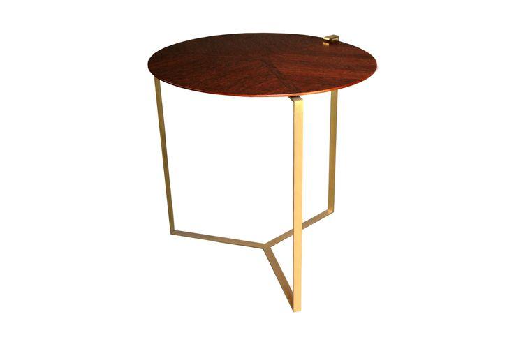 Ypsilon Wood Side Table