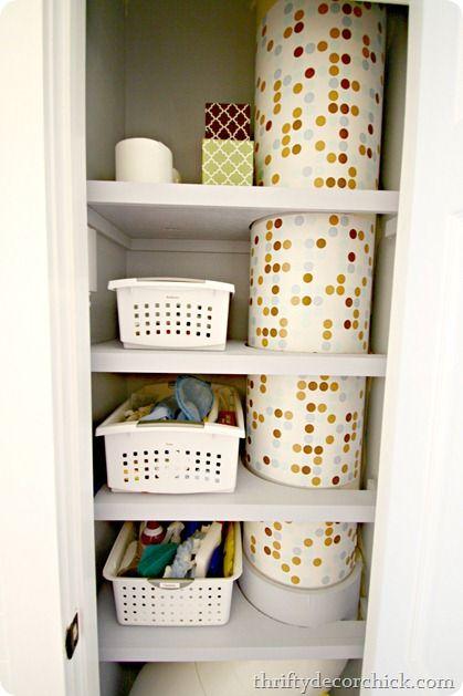 My #organized #DIY laundry chute
