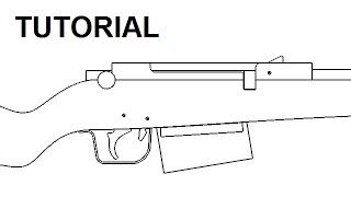 Znalezione obrazy dla zapytania wooden rubber band gun plans free