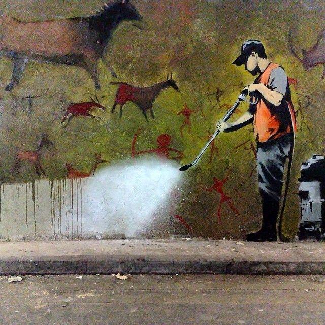 Best Street Art Images On Pinterest Bored Panda Murals - Artist paints incredible seaside murals balanced on surfboard