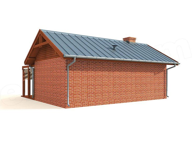 Zdjecie Projektu Kl14 Kuchnia Letnia Budynek Gospodarczy Sln2392 Dream House Home Dream