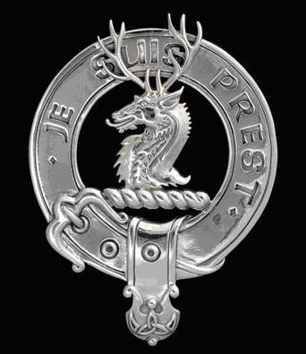 Je suis prest, (I am ready). Clan Fraser.