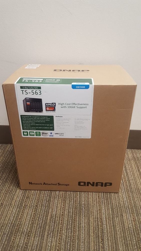 Brand new QNAP TS-563 5-Bay Turbo NAS 2GB RAM | eGaming Forums