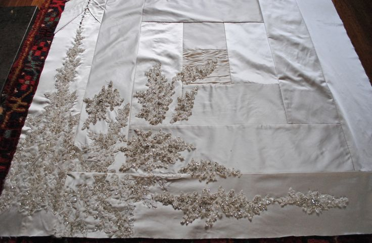 wedding dress quilt - Google Search