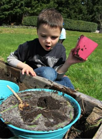 Mud Soup - learning outside