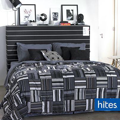 Geometric Desing. Mezclar tonos grises le dará un toque sofisticado a tu dormitorio.