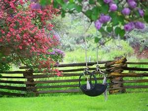 tire swing for the yard