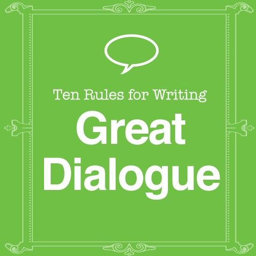 """""""Writing good dialogue can be tricky. Written dialogue is a lot less wordy than how we actually speak. And good dialogue has to move the story along, so it has a pretty big job to do. ..."""""""