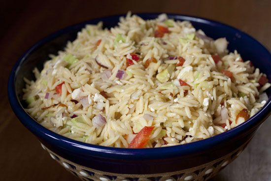Greek Orzo Salad from Macheesmo.  More than 600 recipes here with photos.  Must browse these recipes!