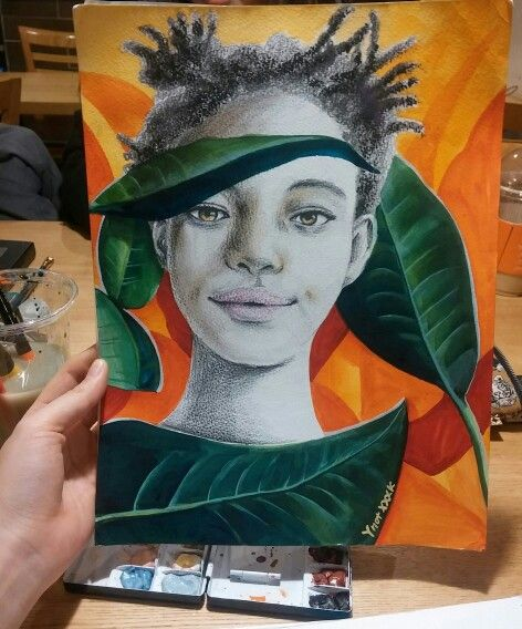My artwork #willowsmith #illust #painting #drawing #art #girl