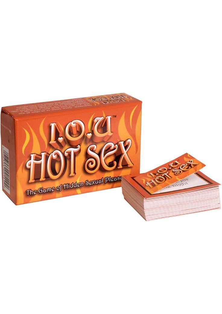 Buy Iou Hot Sex The Game Of Hidden Sexual Pleasures online cheap. SALE! $7.49