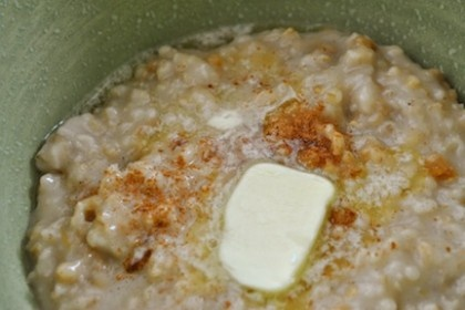 Crockpot oatmeal! Link broken now...but here's recipe I use. Overnight Crockpot Oatmeal