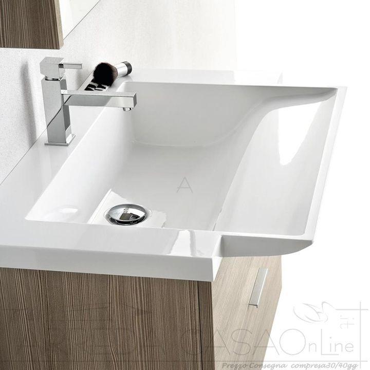 230 best arredo mobili bagno - bathrooms design images on ... - Composizione Bagno Economico