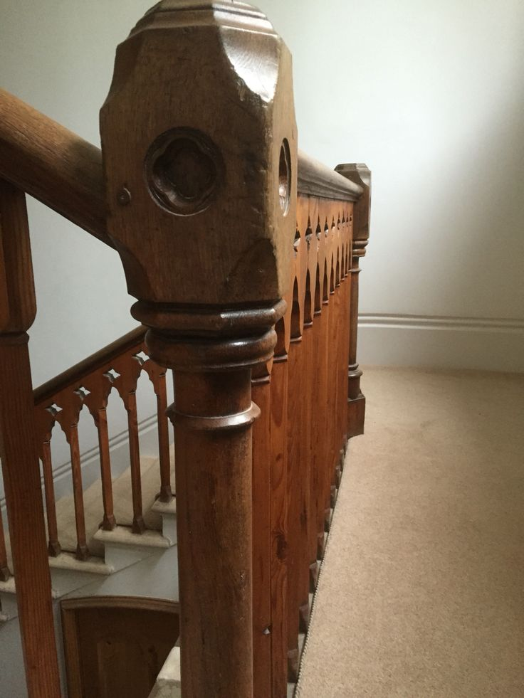 Bannister detail