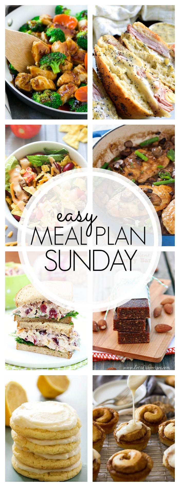 Welcome back to Easy Meal Plan Sunday #91 where you'll find recipes for your week. Grab them all!