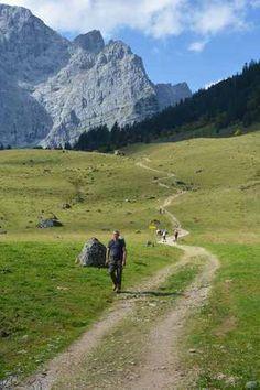 Hüttenwanderung - Karwendel Wandern von Hütte zu Hütte Mehr