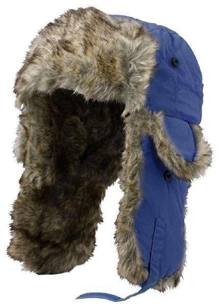 Czapka zimowa uszatka Satila AKTSE niebieska. Czapka uszatka z futerkiem zapewni doskonałą ochronę przed utratą ciepła, nawet w najsroższą zimę! Dzięki pokrytym sztucznym futerkiem klapom na uszy, idealnie przylega do głowy tworząc nieprzepuszczalną powierzchnię! #czapkazimowa #odziezzimowa