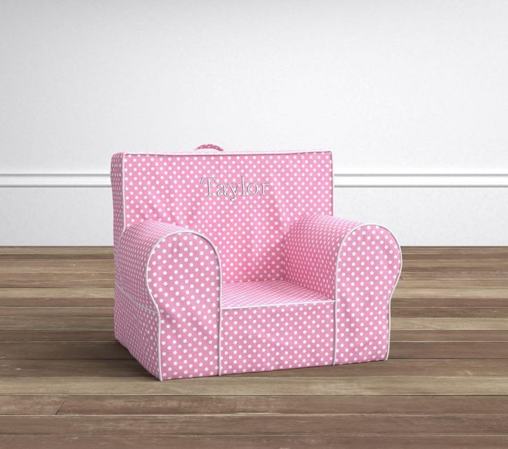 My First Anywhere Chair, Pink Mini Dot