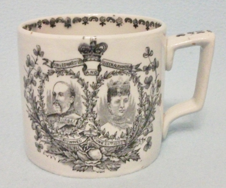 King Edward Vii Amp Queen Alexandra 1902 Coronation Mug