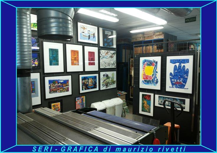 SERI-GRAFICA di maurizio rivetti Mostra permanente di Grafica d'Arte a tiratura limitata