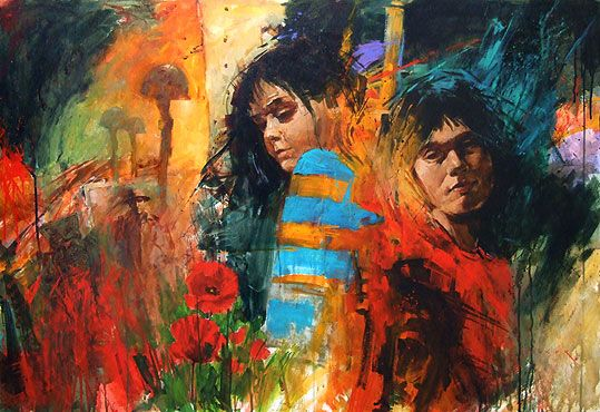 paul hooker nz porait and figurative artist