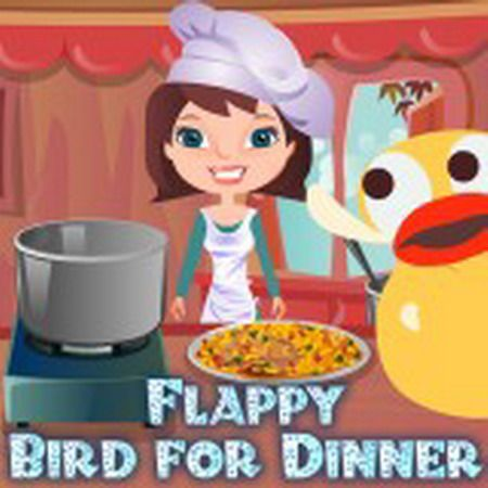 Finally Flappy Bird is dead! It had been caught and slaughtered by this young cook. Now the girl wants to make a wildfowl soup and needs your help. Add some rice, tomato paste, vegetables and other ingredients – the soup will be delicious!