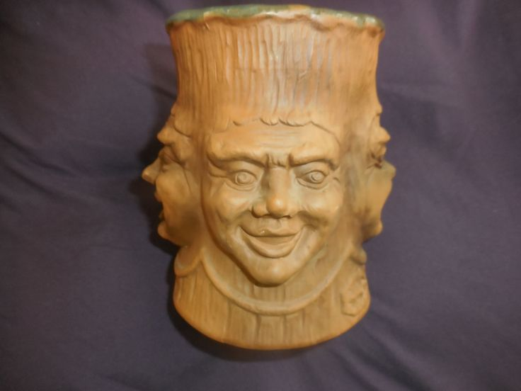 "Vintage Ceramic/Clay Mug, Handmade in 1975 by ""Grumpy's"", by ZephyrGemsandEtc on Etsy"