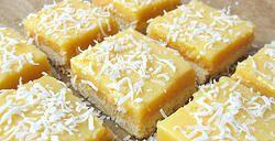 Coconut Lemon Squares 12 x 4 oz square $40 9 x 6 oz mini loafs $50 thesmoothiebar.ca