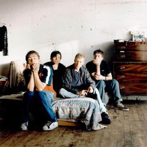 Blur : Damon Albarn, Alex James, Dave Rowntree and Graham Coxon