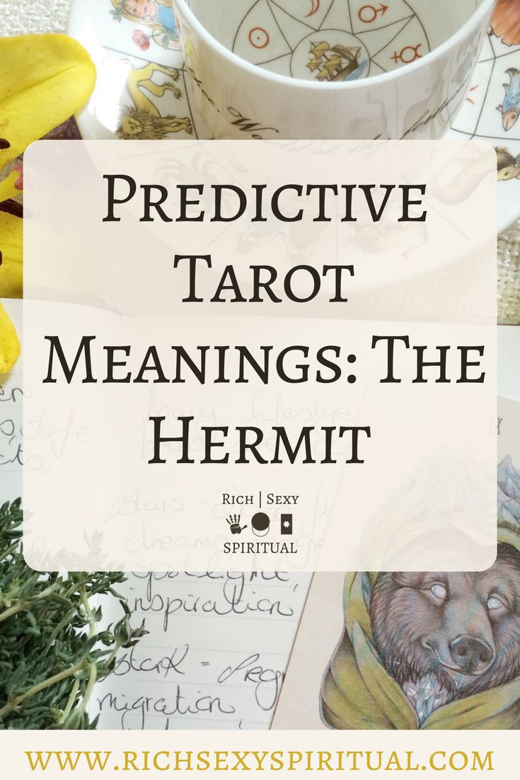Future tarot meanings the hermit tarot the hermit