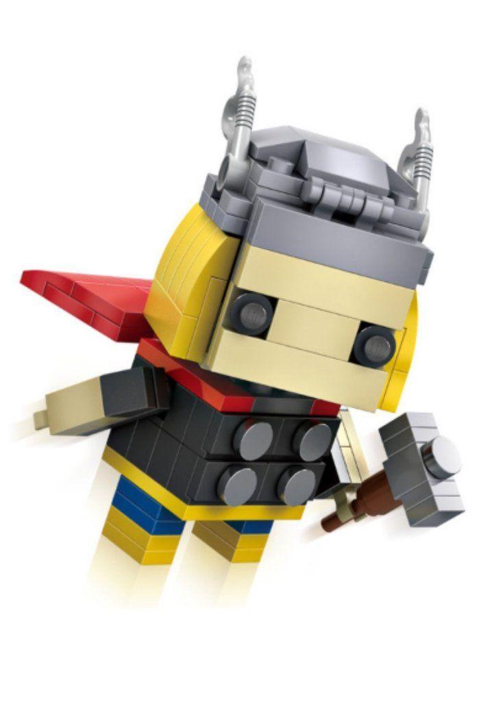 New 2016 LOZ Mini Blocks The Avengers Thor