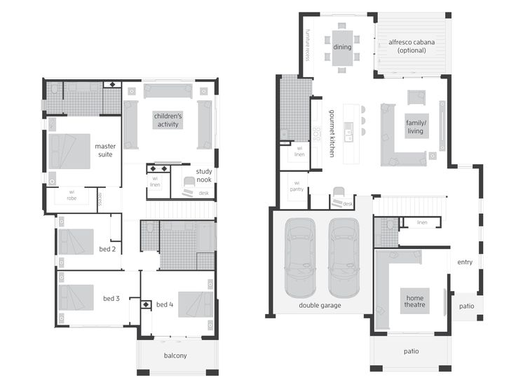 90 best Floorplans images on Pinterest Home design Floor plans
