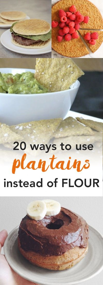 Paleo plantain recipes | How to use plantains instead of flour