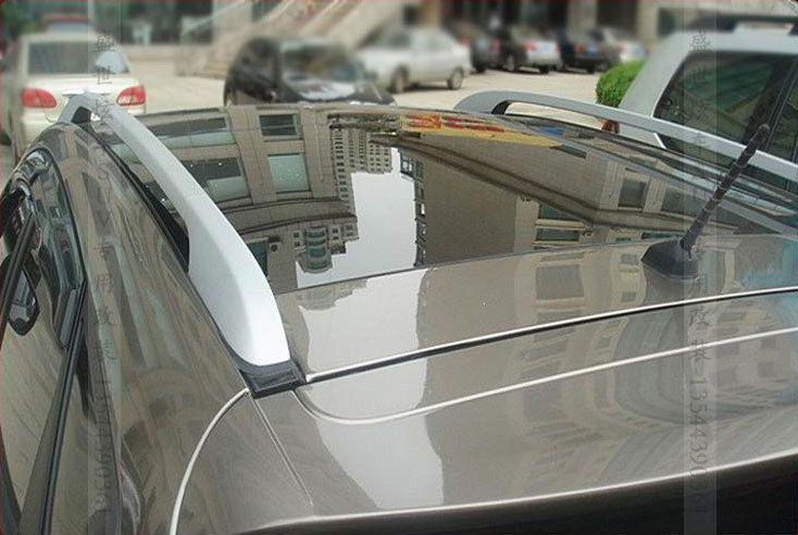 1set Auto Car Roof Top Mounted Rack Rail For Hyundai