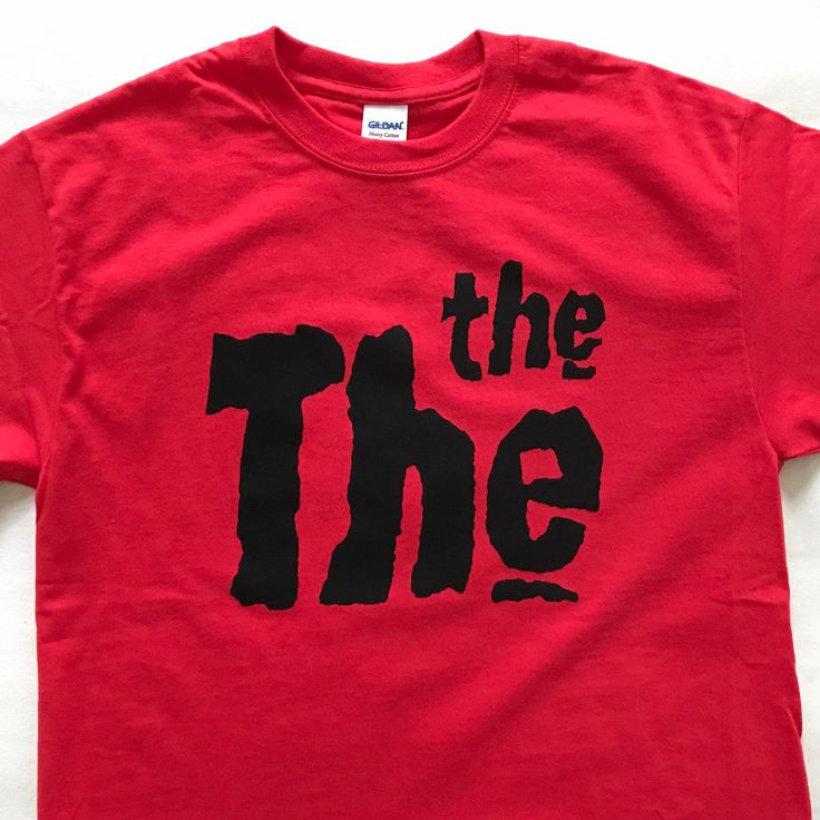 This is the The Day. #thethe #mattjohnson #tshirts