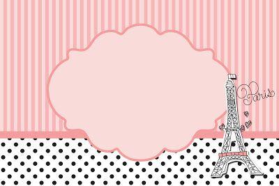 Fazendo a Minha Festa!: Paris 15 Anos - Kit Completo com molduras para convites, rótulos para guloseimas, lembrancinhas e imagens!