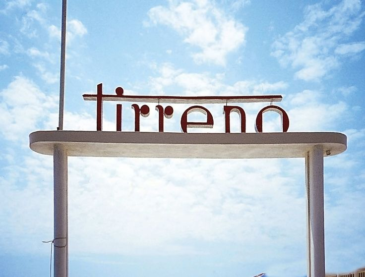 Louise Fili's book Grafica della Strada: The Signs of Italy documents her obsession with Italian lettering, collecting pictures she's taken of restaurant, shop, hotel, and street signs from all over the country
