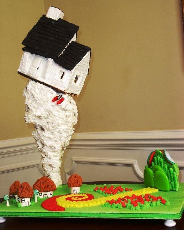 Tornado Cake Topper