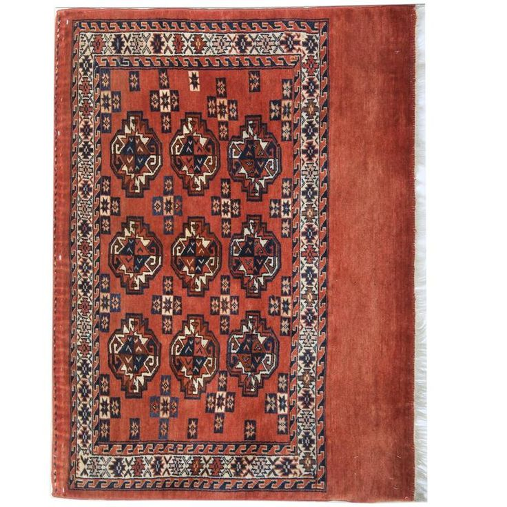 Antique Turkman Rugs | From a unique collection of antique and modern central asian rugs at https://www.1stdibs.com/furniture/rugs-carpets/central-asian-rugs/