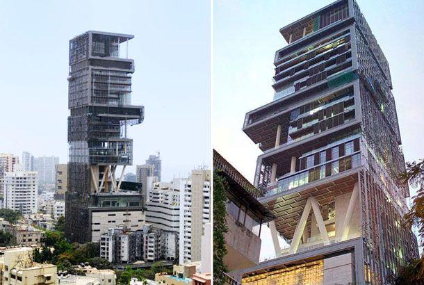ムンバイのAltamount Roadにそびえ立つこちらの建物。その正体は、商業ビルでも高層マンションでもなく、ある家族のための...