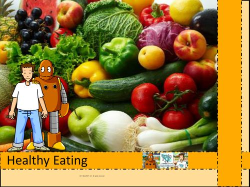 Healthy Eating Whiteboard Resources