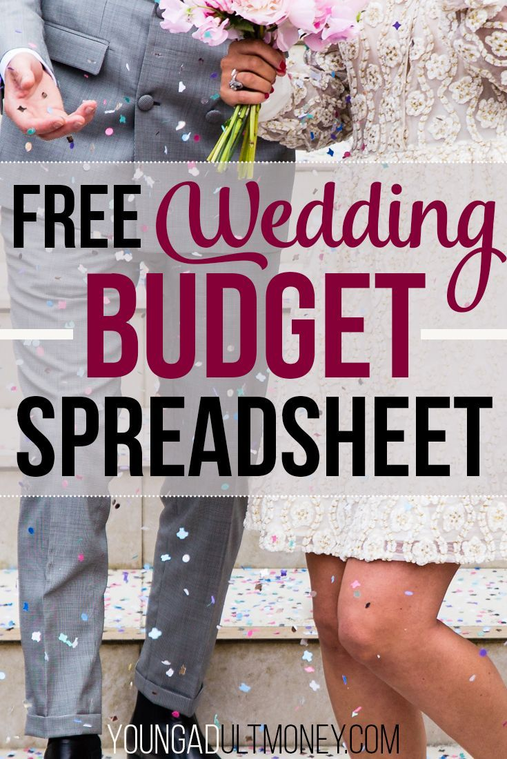 Are you planning your wedding? Keep on top of your budget and spending by downloading and using this free wedding budget spreadsheet in Excel. via @YoungAdultMoney