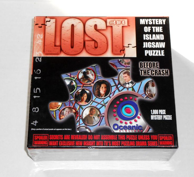 RARE Sealed LOST #4 Of 4 Before The Crash Mystery Of