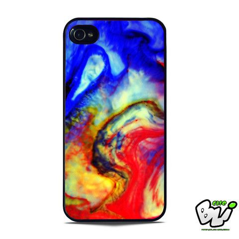 Abstract Watercolor iPhone SE Case