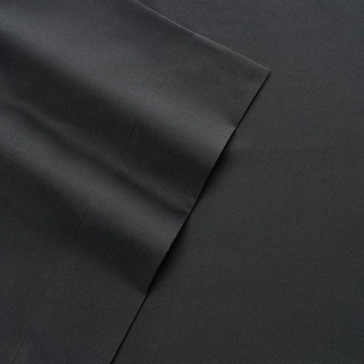 London Fog Sheet Set, Black Queen
