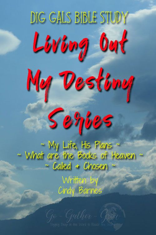 Living Out My Destiny eBook with Discussion Points to help you understand how you can fulfil your God-given destiny! #destiny